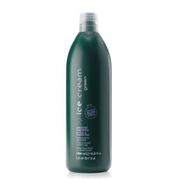 Inebrya Ice cream Green - Sensitive shampoo 1000 ml