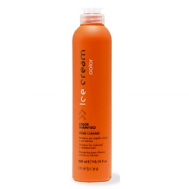 Inebrya Ice Cream Color - Color shampoo cream caramel 300 ml