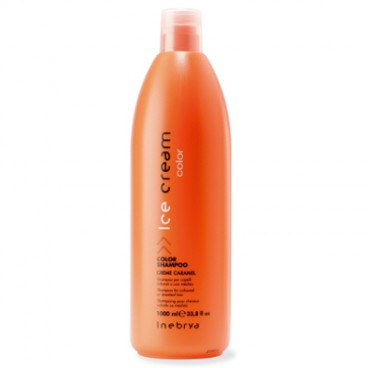 Inebrya Ice Cream Color - Color shampoo cream caramel 1000 ml