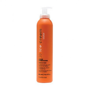 Inebrya Ice Cream Color - Color conditioner crema di riso 300 ml