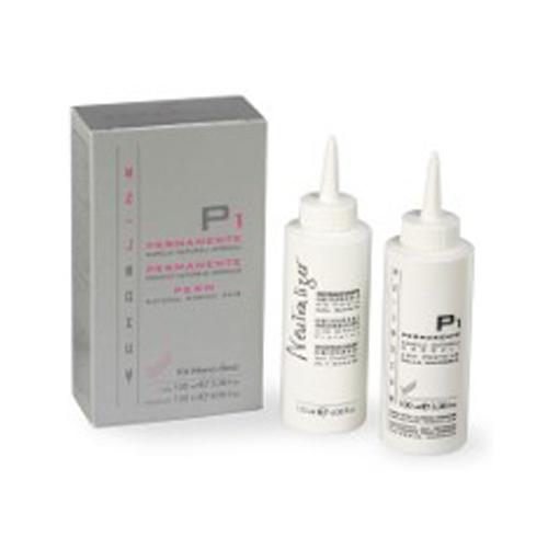Echos Line Perms Mono-Dose - P1 Permanente capelli naturali normali + N Neutralizzante universale per permanente 100 ml + 120 ml