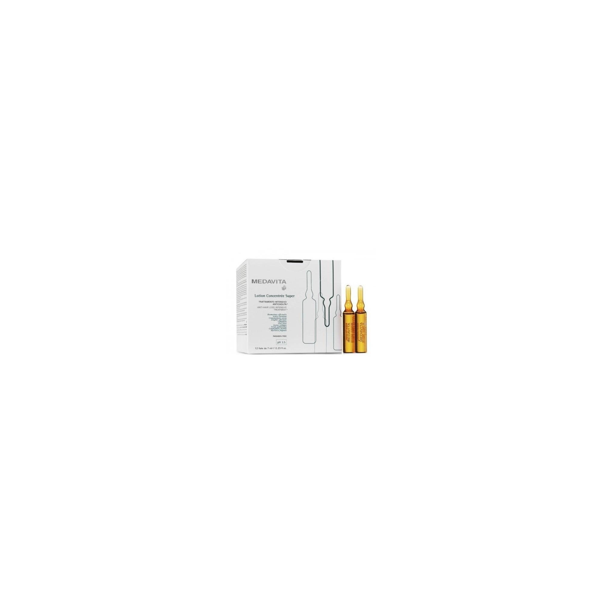 MEDAVITA LOTION CONCENTREE SUPER  PH 3,5 12 FIALE X 6ML
