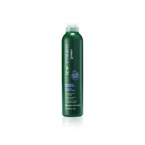 Inebrya Ice cream Green - Sensitive shampoo 300 ml