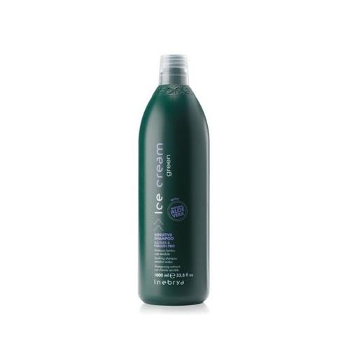 Inebrya Ice cream Green - Sensitive shampoo 1000 ml