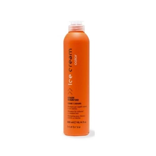 Inebrya Ice Cream Color - Color shampoo cream caramel 300 ml