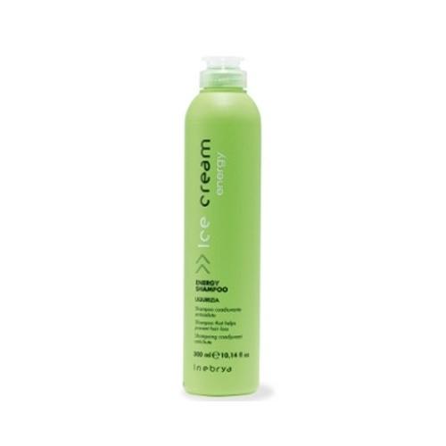 Inebrya Ice Cream Energy - Energy shampoo liquirizia 300 ml