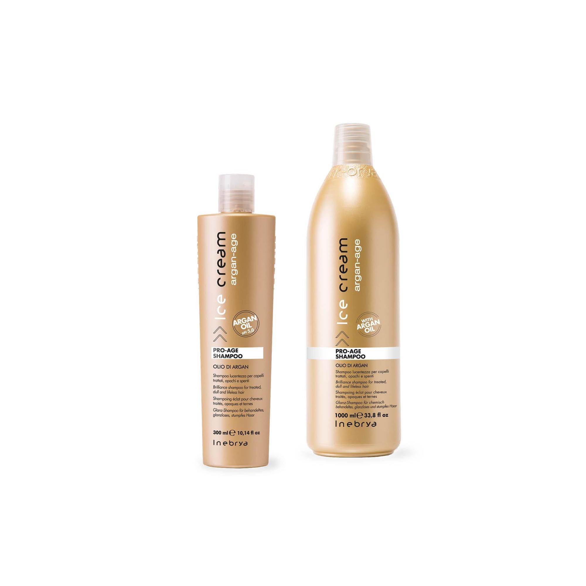Inebrya Ice Cream Argan Age - Pro-Age shampoo 1000 ml