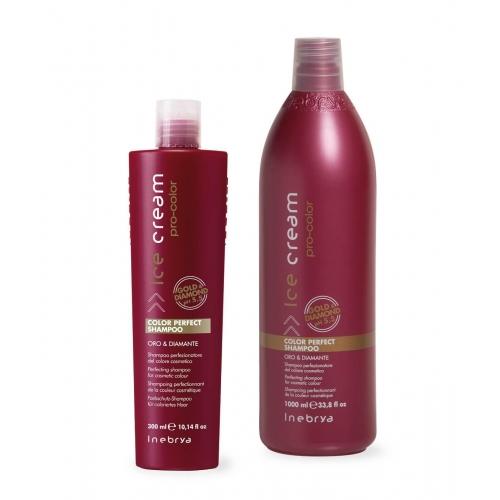 Inebrya Ice Cream - Color Perfect Shampoo, per la lunga durata del colore cosmetico