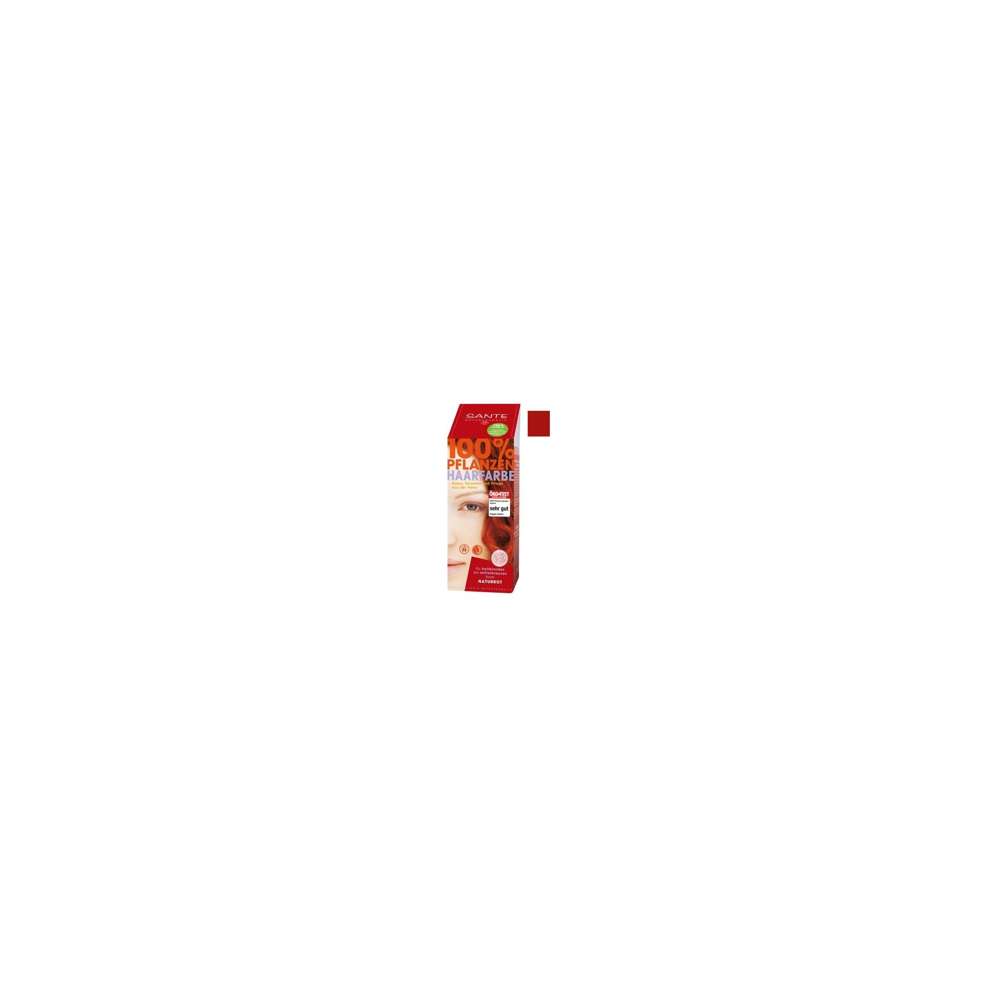 Sante tinta vegetale per capelli Rosso naturale