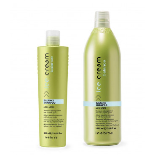 Inebrya Ice Cream Balance - Balance shampoo mela verde 300 ml