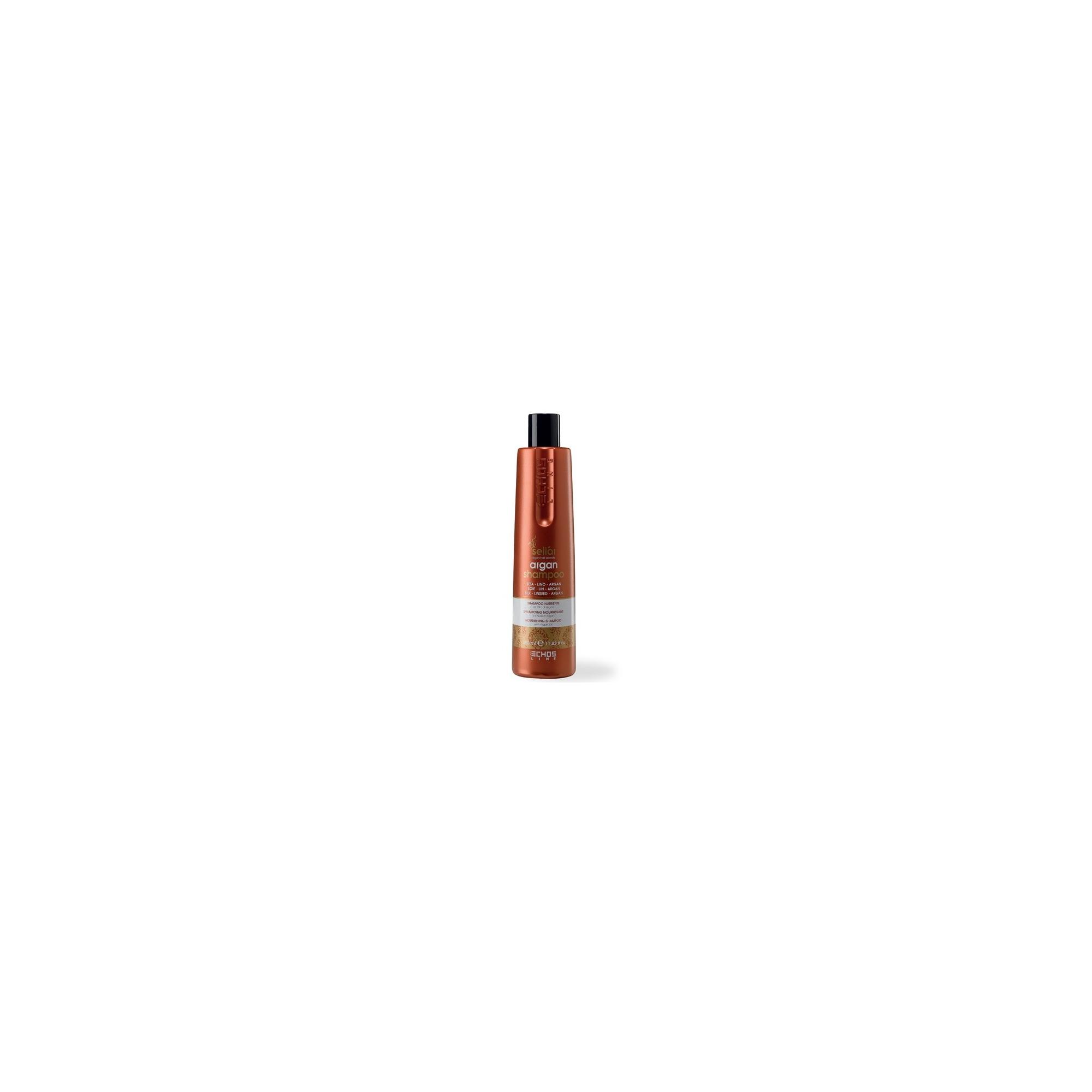 Echos Line Seliar - Argan shampoo - Shampoo nutriente all'olio di argan 1000 ml