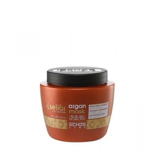 Echos Line Seliar - Argan mask - Maschera nutriente all'olio di argan 500 ml